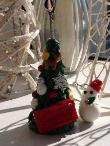 クリスマス,教室,樹脂粘土