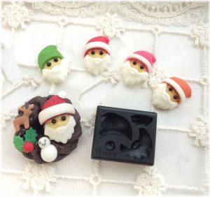 藤沢,クラフト粘土,クリスマス,サンタ,いちご,トナカイ,スノーマン,ゆきだるま,ひいらぎ