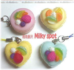 湘南藤沢milky spot,フルーツマカロン,樹脂粘土,ワークショップ,ハンドメイド,子供と一緒