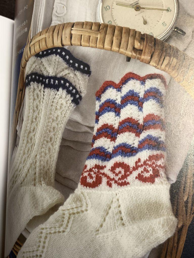 模様編み4